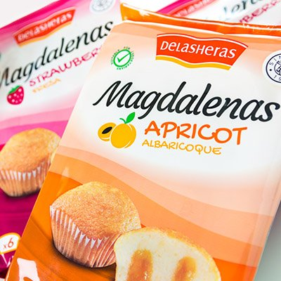 packaging MAGDALENAS DE LAS HERAS
