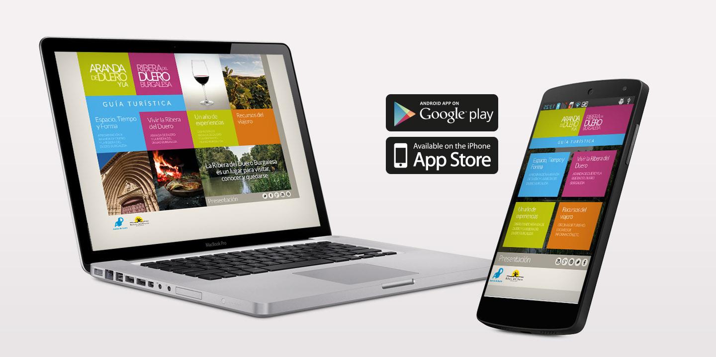 Guía turística, web y app