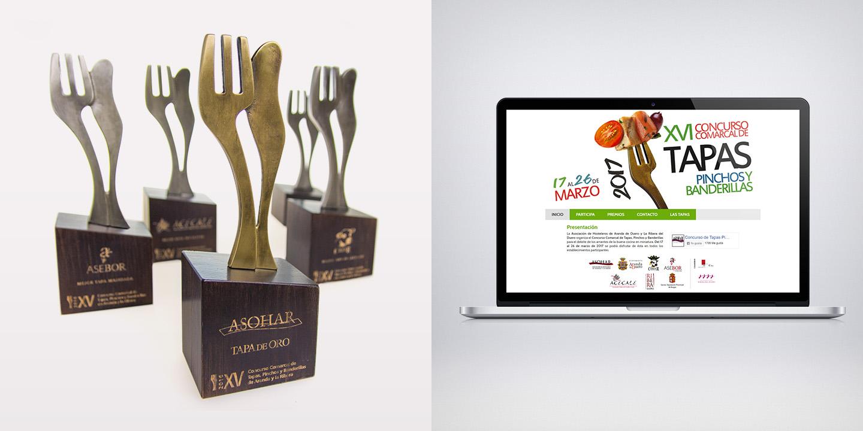 Carteles, imagen y premios del concurso de Tapas Aranda de Duero