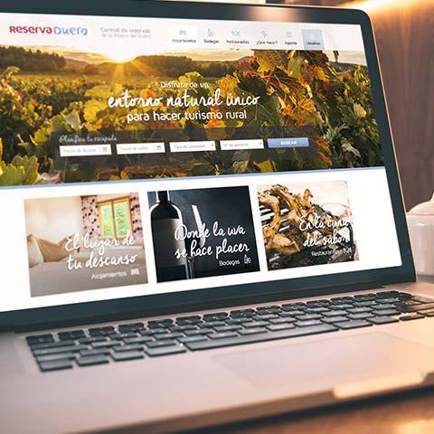 Web ReservaDuero