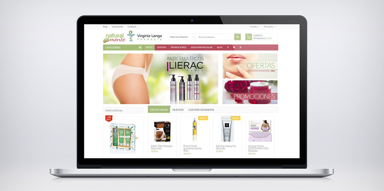 Tienda online Virginia Langa parafarmacia