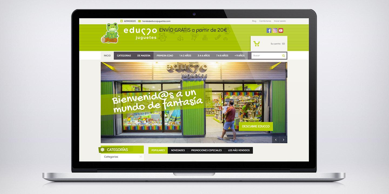 Tienda online Educco juguetes