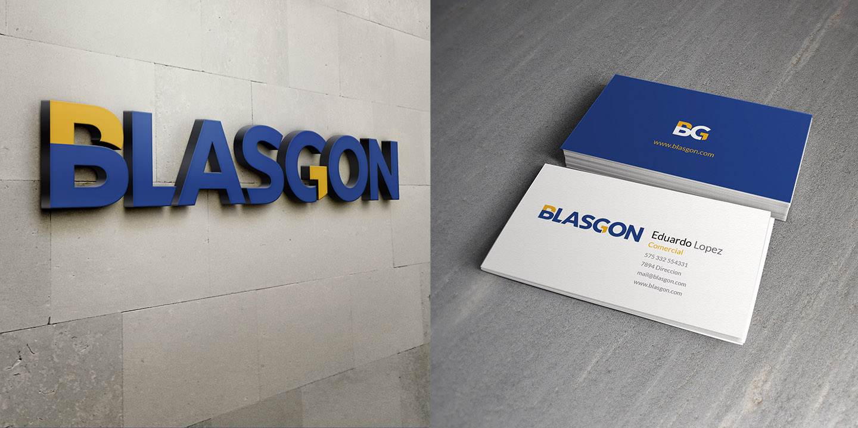 identidad corporativa BLASGON
