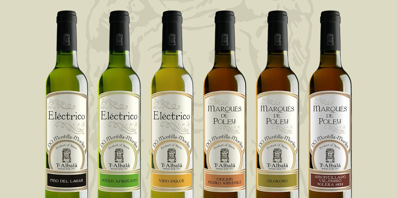 Diseño de etiquetas de vino DO Montilla-Moriles