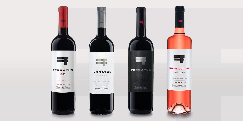 Diseño de etiquetas Ferratus