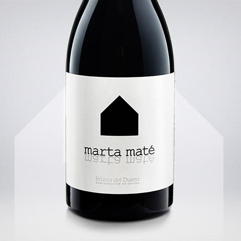 Etiqueta de Marta Maté