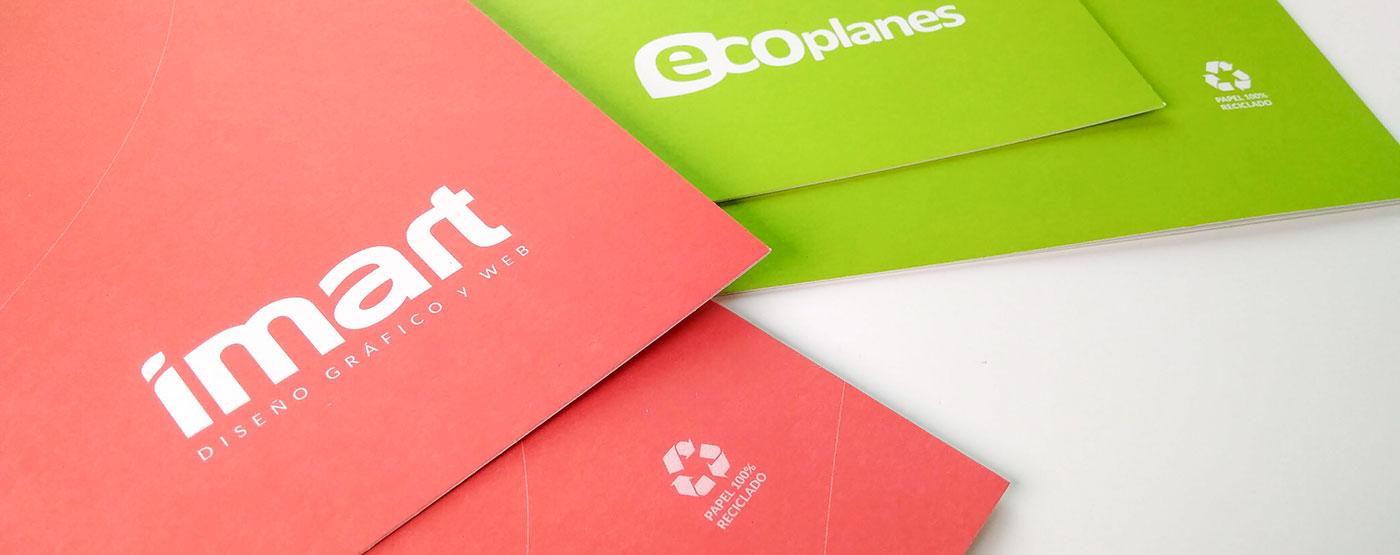 imart - papel reciclado