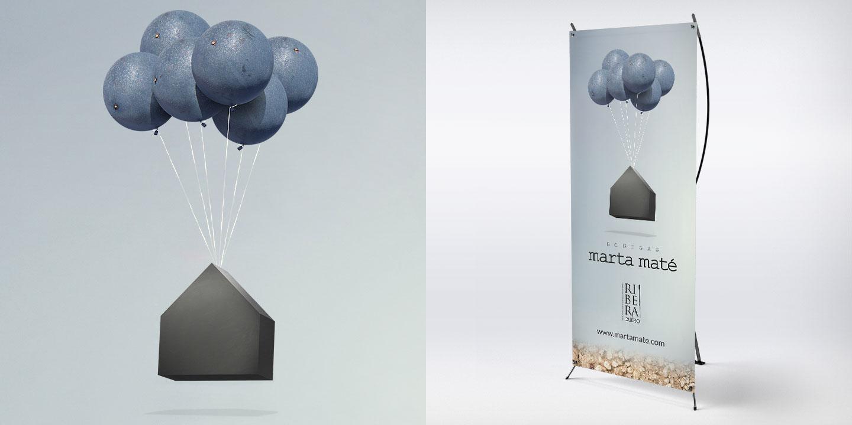 Fotomontaje y banner Marta Maté